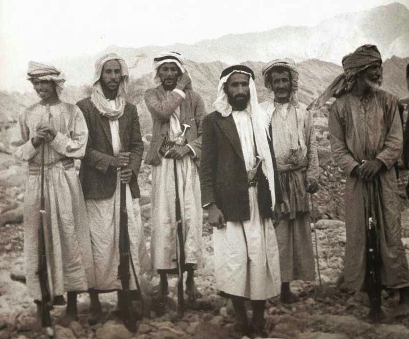 Одеяния бедуинов