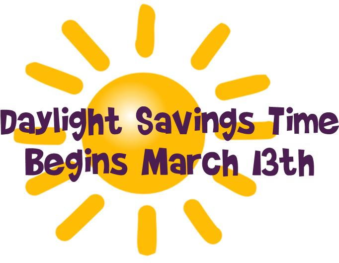 Daylight savings time is upon us
