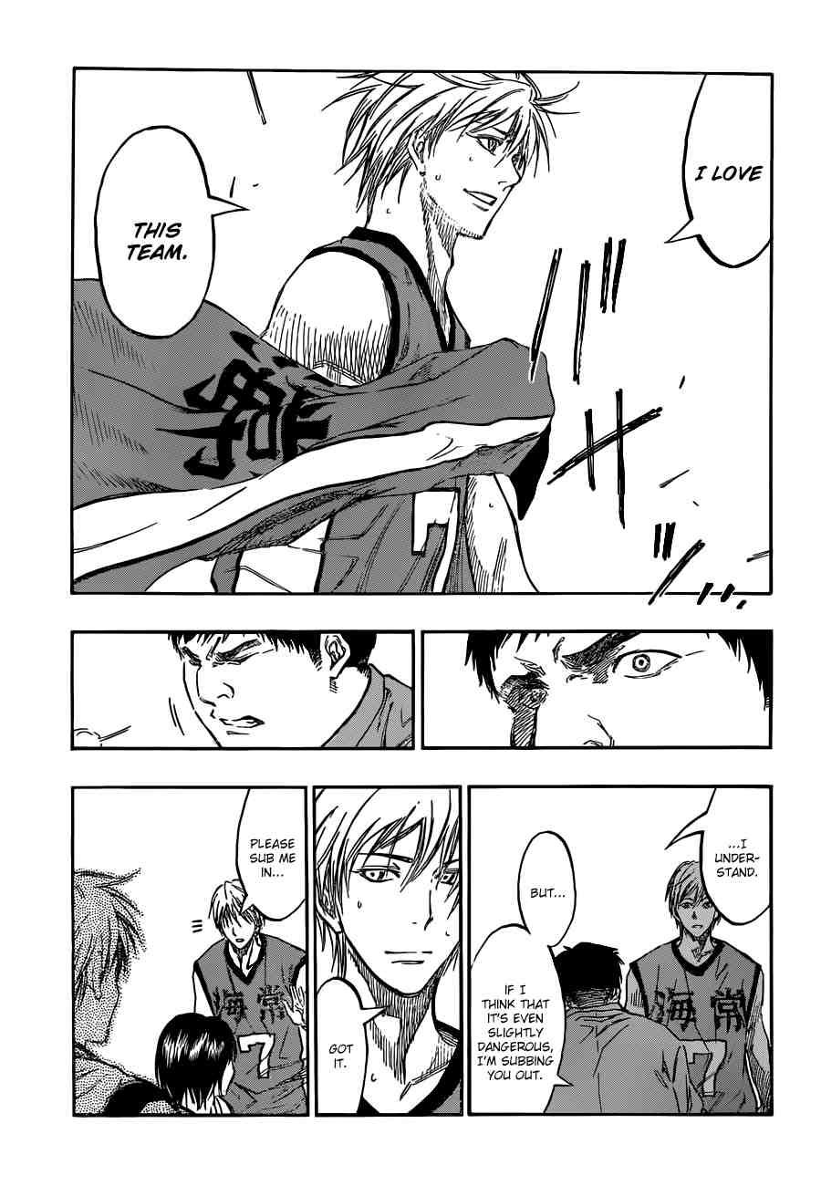 Kuroko no Basket Manga Chapter 195 - Image 15