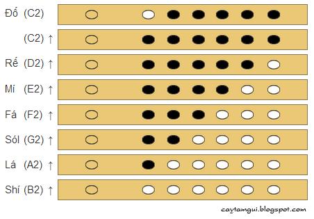 Cách bấm thổi nốt quãng 2 trên sáo trúc 6 lỗ