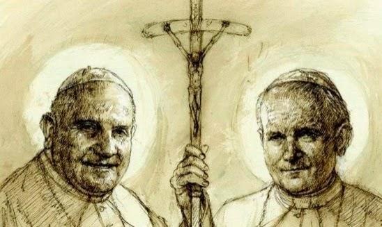 due papi santi
