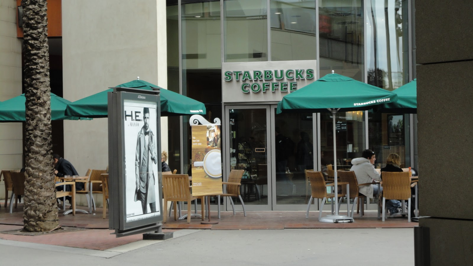 Mi starbucks coffee visitados - La maquinista barcelona ...