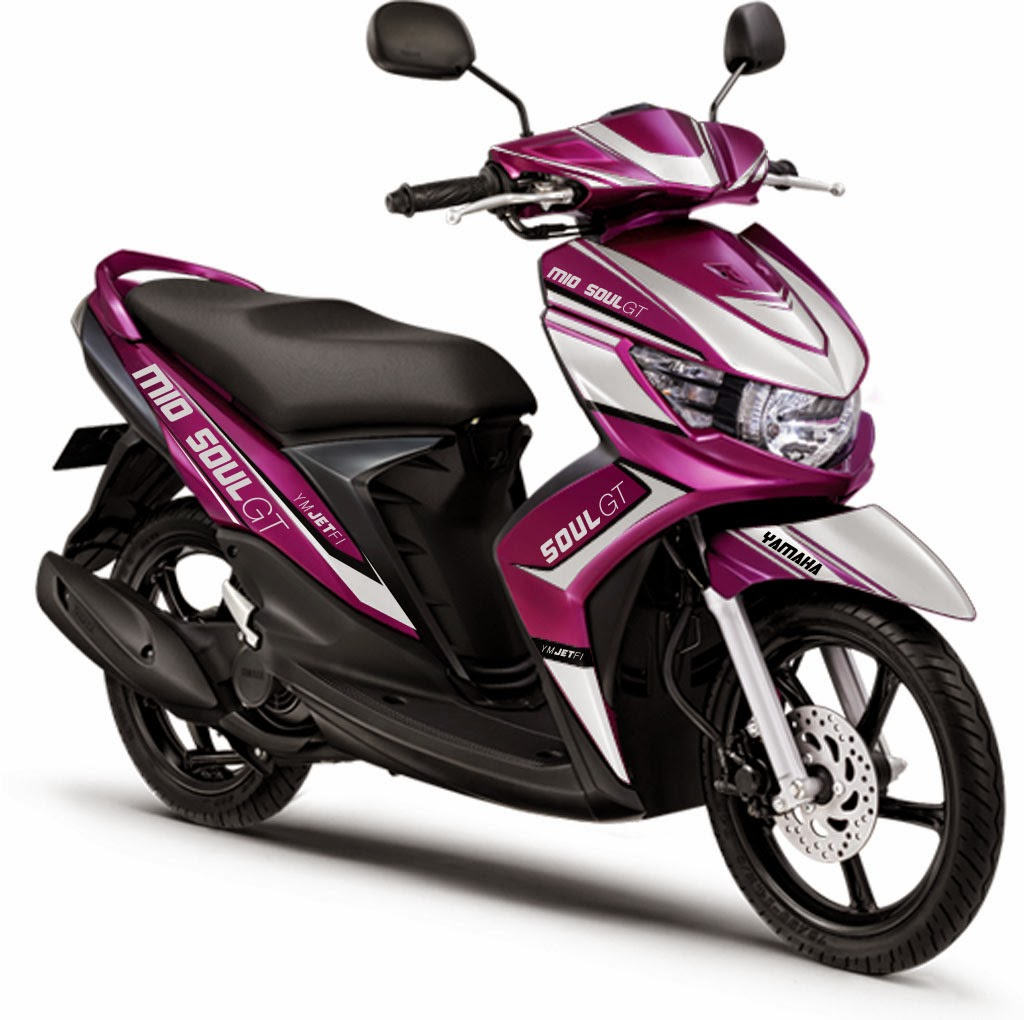 Modifikasi Yamaha Soul Gt