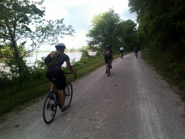 Katy Trail Near Jefferson CIty