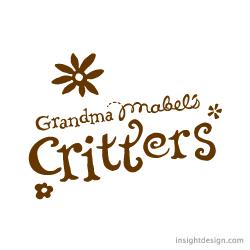 Grandma Mabel's Critters. Logo design Wichita, KS.