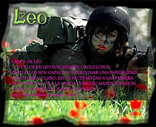 Como son los celos del signo Leo