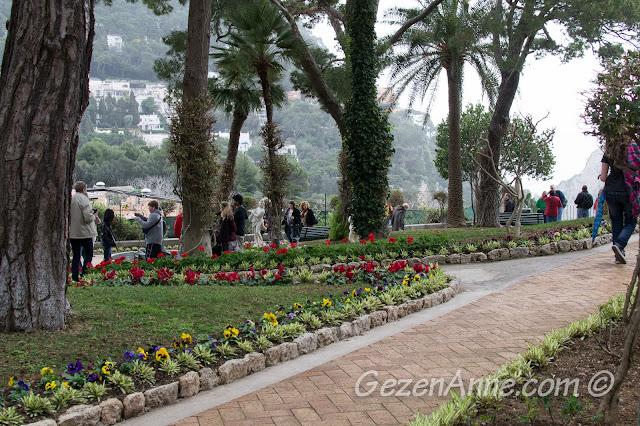 Augusto parkı, Capri
