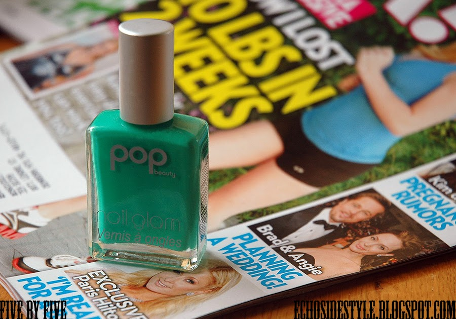 Five By Five Pop Beauty Nail Glam In Quot Grass Quot
