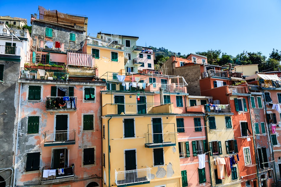 Италия, Чинкве Терре
