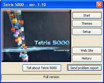 Tetris 5000 PC Portable