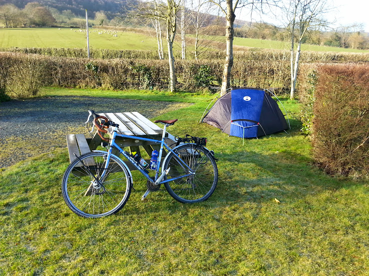 The tent is a Coleman Cobra 2 which is surprisingly spacious and similar to the Vango Banshee. I like it but an annoying aspect of the tent is that ... & Tent pics...