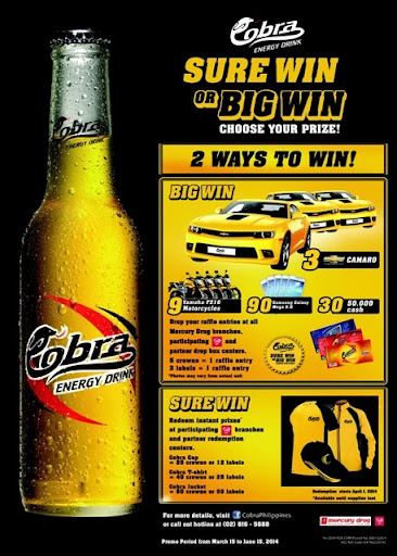 Cobra launches Sure Win, Big Win Promo