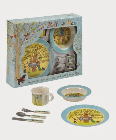 Belle and Boo Pirate plate set £19.99