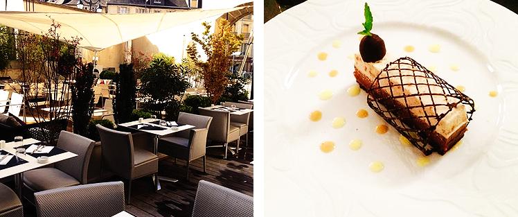 bon restaurant rennes, où manger en bretagne, restaurant gastronomique, le carré, restaurant haut de gamme