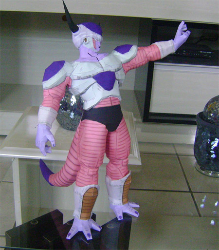 Dragon Ball Z Frieza Papercraft Second Form