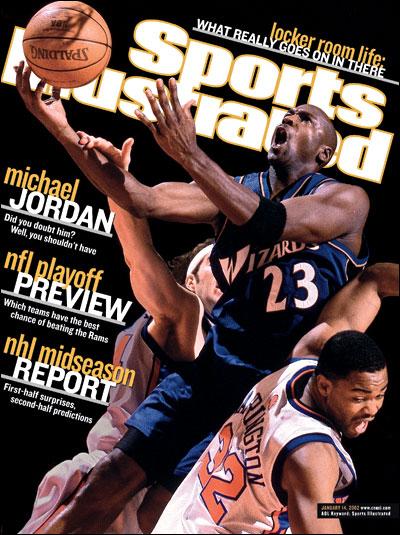 *Sports Illustrated:慶祝Michael Jordan 50歲生日封面特輯回顧! 7