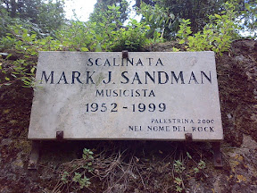 Scalinata Mark J. Sandman, Palestrina