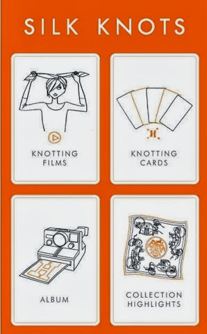 Hermès Launches Silk Knots App!
