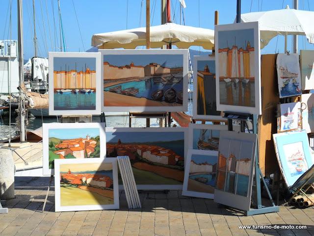 Saint-Tropez, na costa da Riviera Francesa