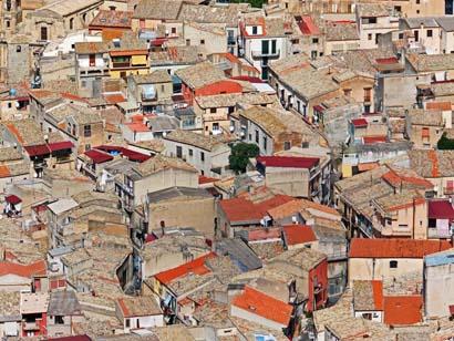 Blick über die Dächer von Corleone