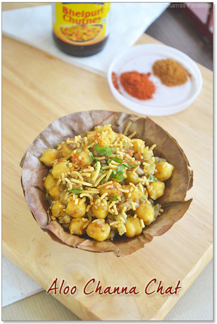 Aloo Channa Chat Recipe