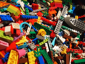 All kinds of Legos!