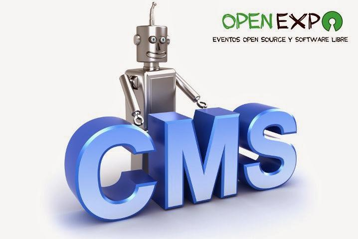 Evento OpenExpo en Madrid sobre CMS Open Source