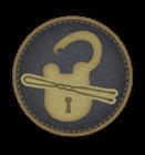Distintivo Scassinatore di serrature