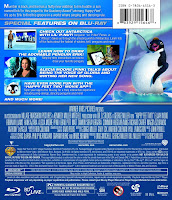 happy feet 2, dvd, bluray, combo, back, cover, image