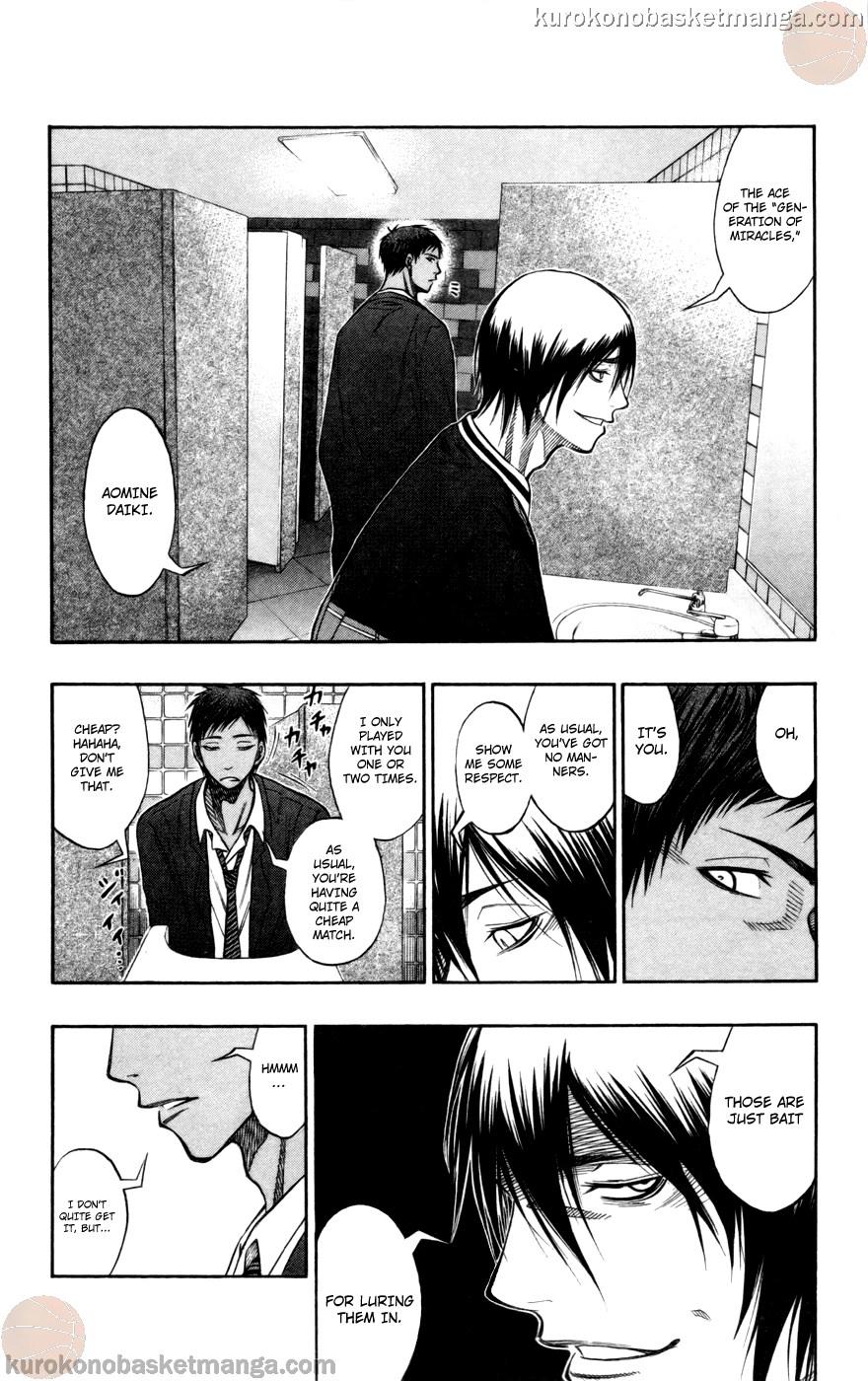 Kuroko no Basket Manga Chapter 103 - Image 10