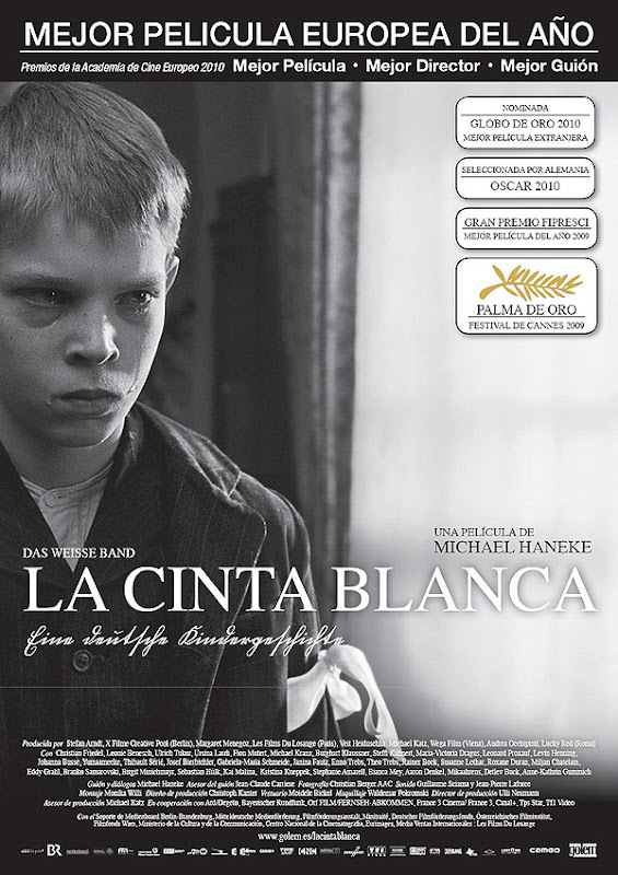 La cinta blanca (Michael Haneke, 2.009)