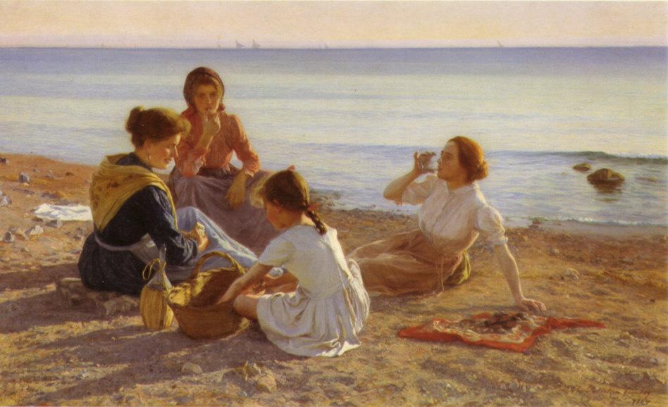 Elin Danielson-Gambogi - On the Beach