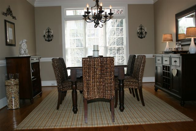 Seagrass dining room