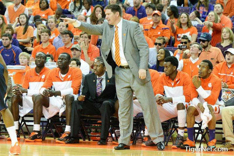 Clemson vs Illinois (NIT) Photos - 2014, Basketball, Brad Brownell