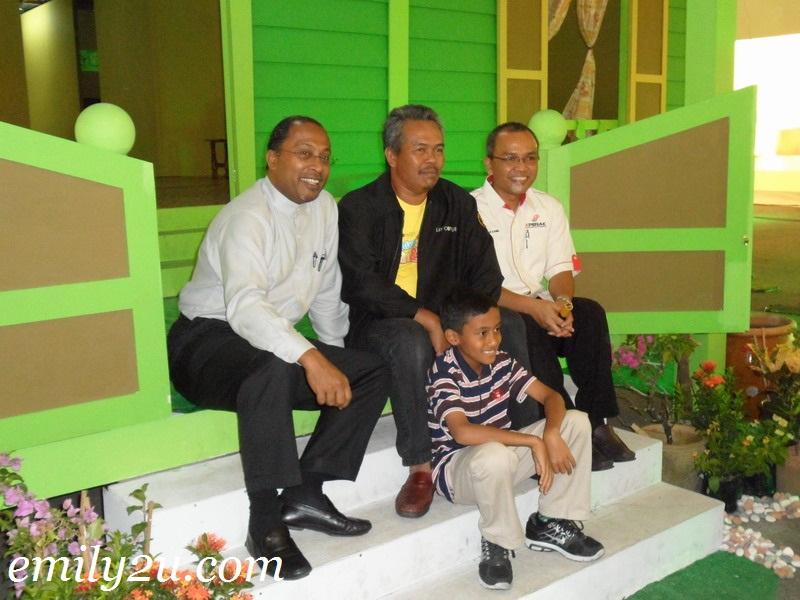 Perak MB at Rumah Opah