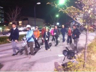tvk(テレビ神奈川)のノルディックフィットネス取材