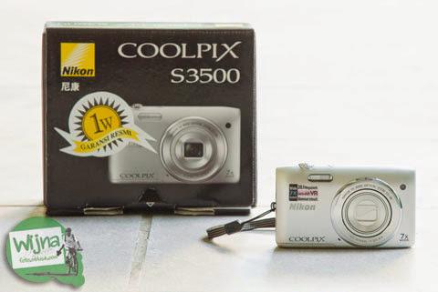 Review Kamera Poket Pemula: Nikon Coolpix S3500. Komponen DSLR yang rusak.