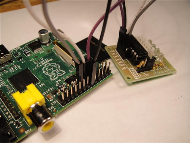 Connect Stepper To Raspberry Pi