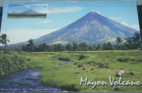 postcards, maxi cards, Philippines, Albay