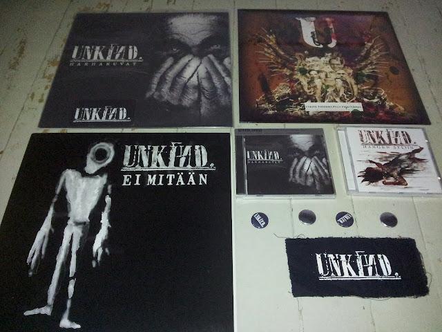 Unkind - Harhakuvat LP/CD 20121112_135748