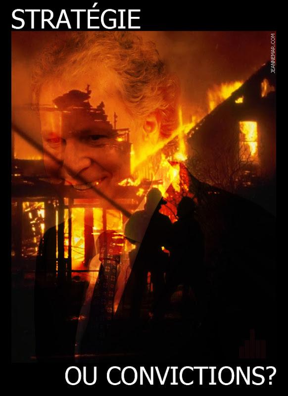 Jean Charest - La maison brûle! - Jean Némar