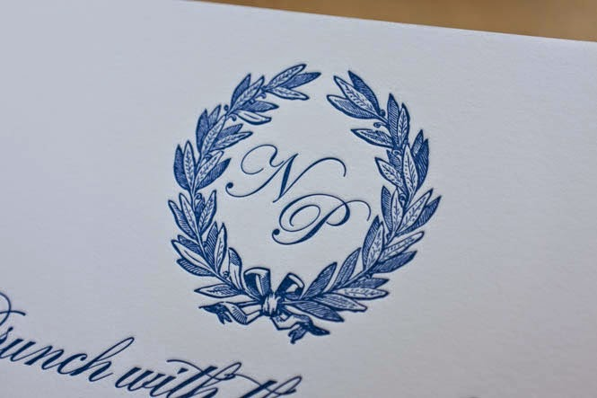 letterpress printing: nicole and paul