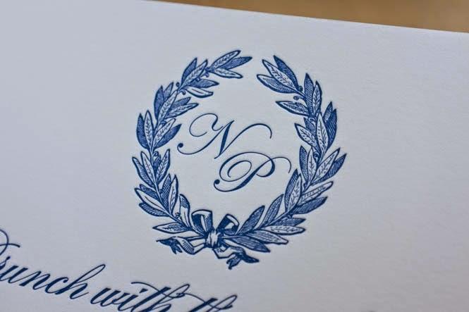 letterpress printing: nicole and paul