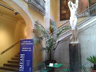 Barcelona. Museu Europeu d'Art Modern (MEAM). Teatre Tívoli . 10 de novembre de 2012.