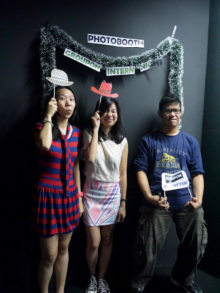 Photo Booth Groupon Malaysia Intern Party
