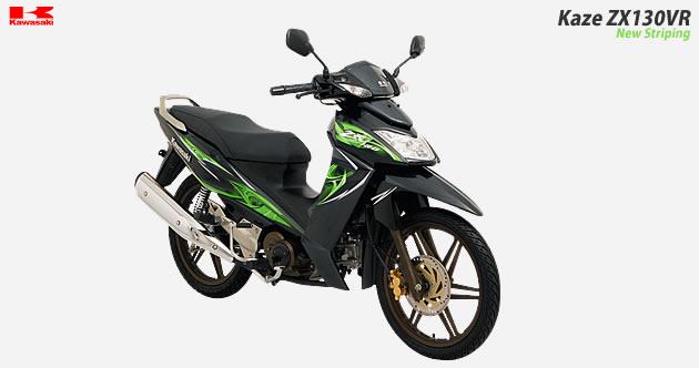 PERENG MOTORCYCLE: Kawasaki ZX 130VR vs Yamaha Jupiter MX