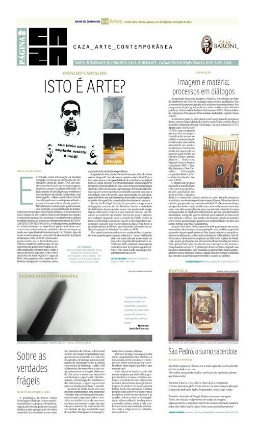 Página da Caza - 29 de Junho de 2012