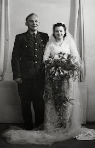 Dulcie and Leon on their Wedding day