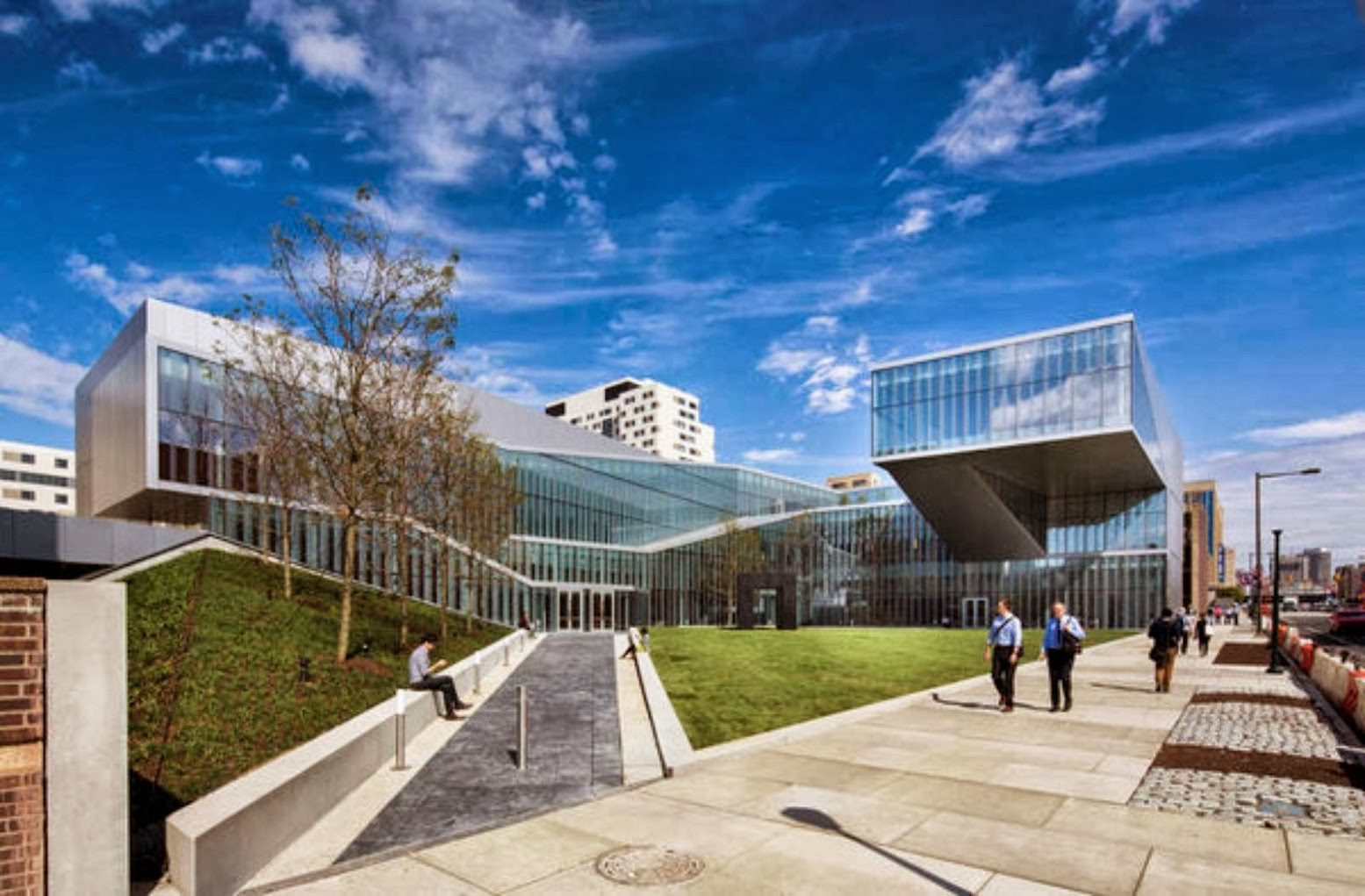 Filadelfia, Pennsylvania, Stati Uniti: [KRISHNA P. SINGH CENTER FOR NANOTECHNOLOGY BY WEISS/MANFREDI]