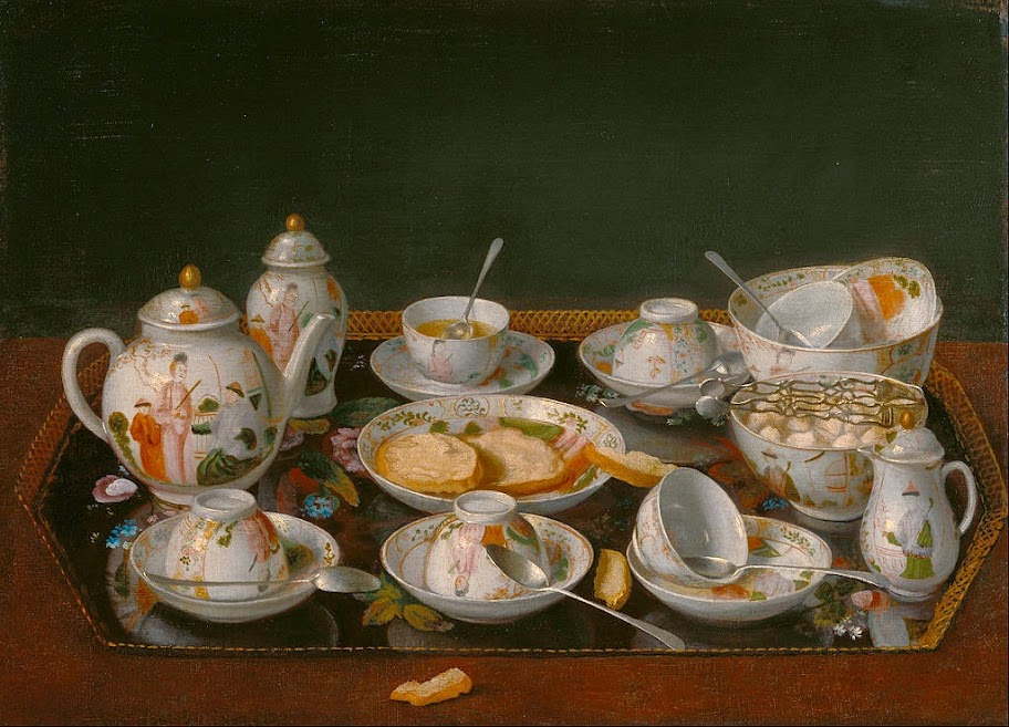 Jean-Etienne Liotard - Still Life- Tea Set - Google Art Project